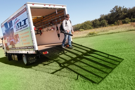 Loading Ramp For Box Trucks Super Lawn Technologies