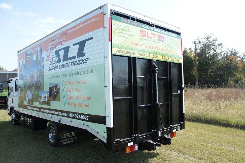 Revolutionary Super Lawn Trucks